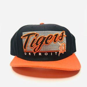 Detroit Tigers Baseball Blue Snapback Hat A180833